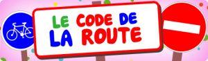 BOUTON CODE DE LA ROUTE